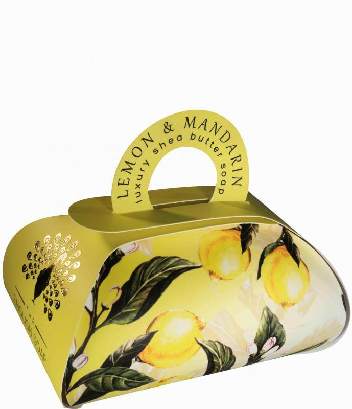 Luxury Bath Soap 260g Lemon & Mandarin
