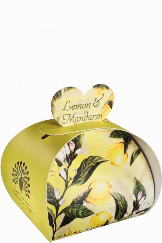Luxury Small Soaps 60 g Lemon & Mandarin