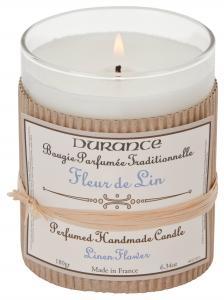 Handcraft Candle Linen Flower 180gr