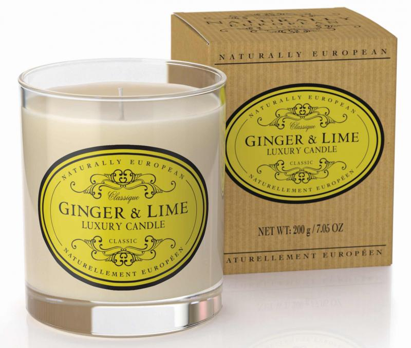 Candle Ginger & Lime 200g