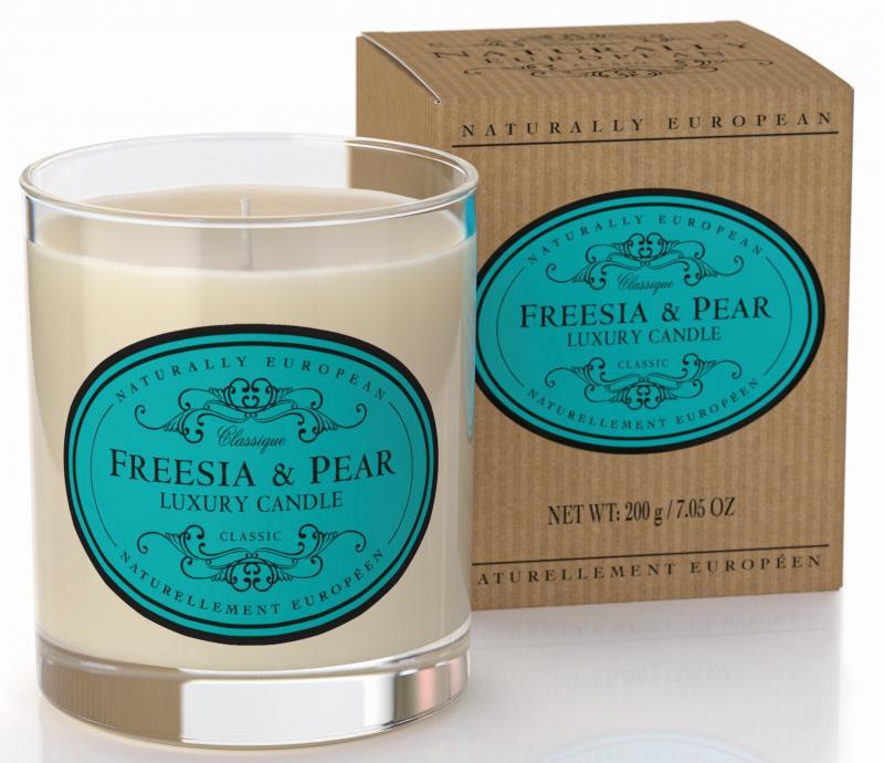 Candle Freesia & Pear 200g