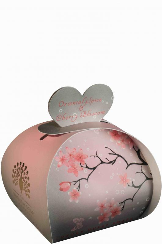 Luxury Small Soaps 60 g Oriental Spice & Cherry Blossom