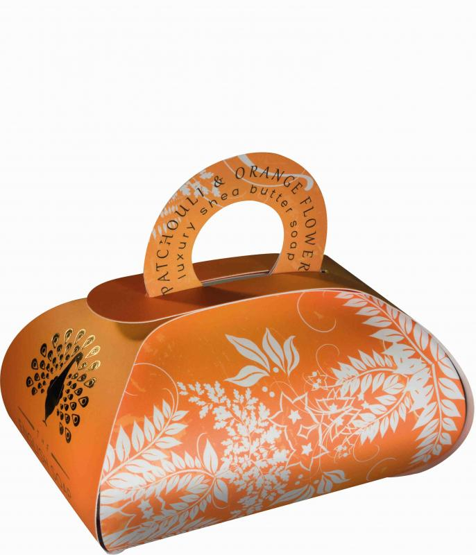 Luxury Bath Soap 260g Patchouli & Orange Flower