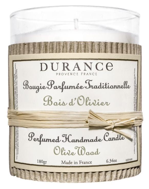 Handcraft Candle Olive Wood 180gr