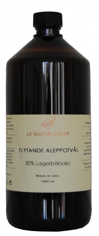 Aleppo Liquide Soap Olive & Lagerbär 1000ml
