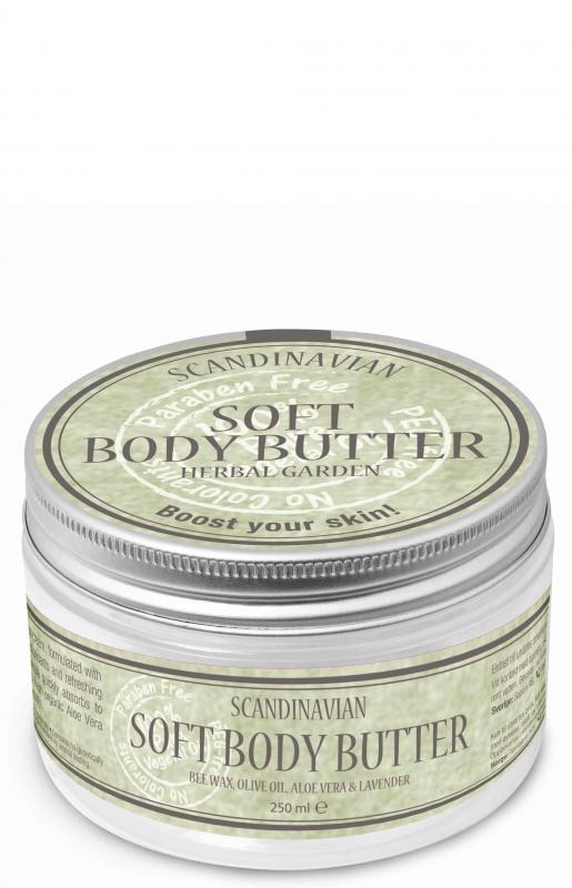Soft Body Butter Herbal Garden 250ml
