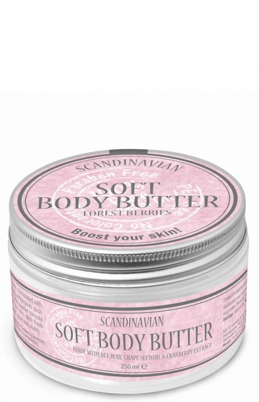 Soft Body Butter Forest Berries 250ml