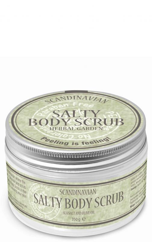 Salty Body Scrub Herbal Garden 350ml