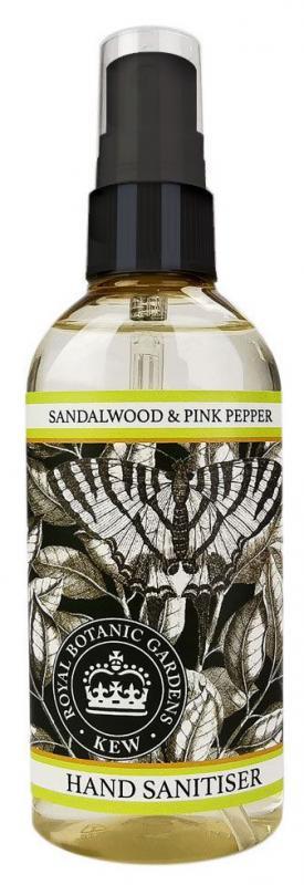 Hand Sanitiser spray Sandelwood & Pink Pepper 100ml
