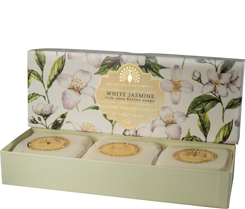 Soap in a Box White Jasmine 3 x100gr