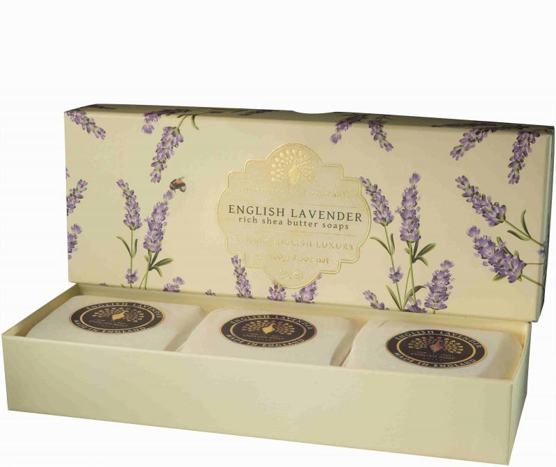 Soap in a Box English Lavender 3 x100gr