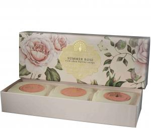 Soap in a Box Summer Rose 3 x100gr