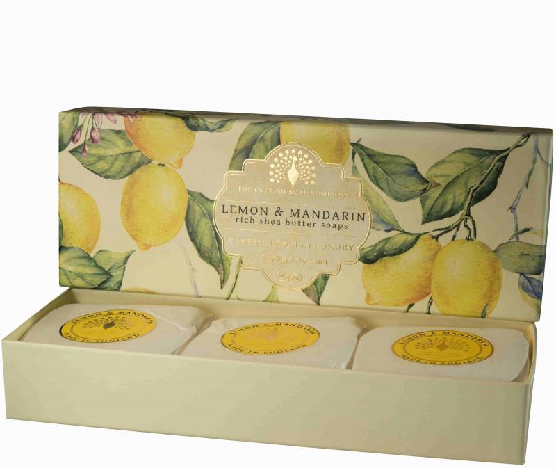 Soap in a Box Lemon & Mandarin 3 x100gr