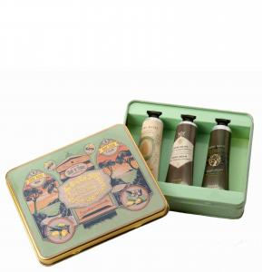 Set - 3 hand creams Almond, Honey, Olive