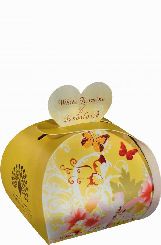 Luxury Small Soaps 60 g White Jasmine & Sandalwood