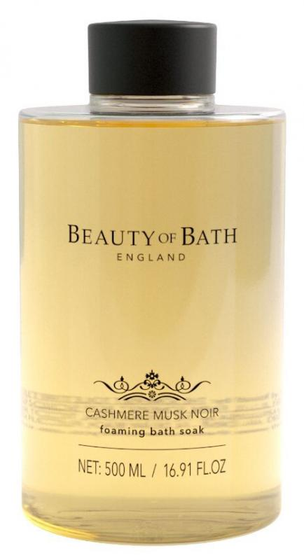 Foaming bath Soak Cashmere Musk Noir 500ml