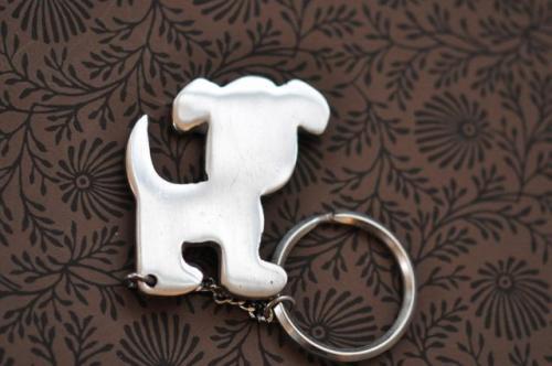Nyckelring  Hund