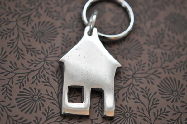 Nyckelring  Hus