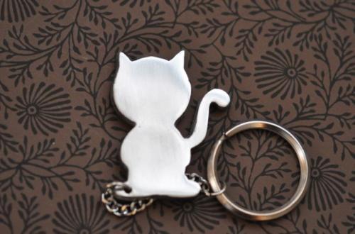 Nyckelring  Katt