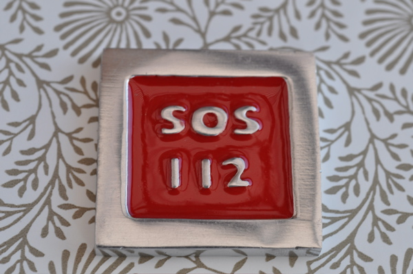Telefonskylt  SOS 112
