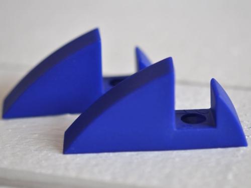 Hyllkonsol blå 16 mm