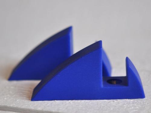 Hyllkonsol blå 19 mm