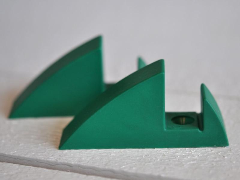 Hyllkonsol grön 19 mm