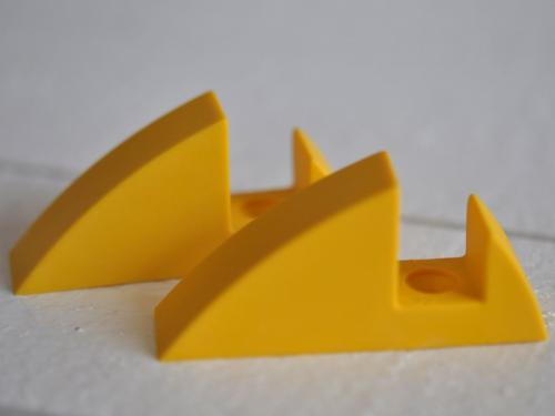 Hyllkonsol gul 16 mm