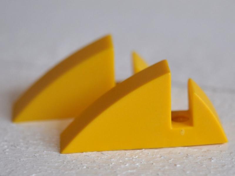 Hyllkonsol gul 8 mm