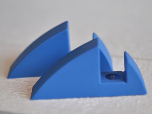 Hyllkonsol pastellblå 16 mm