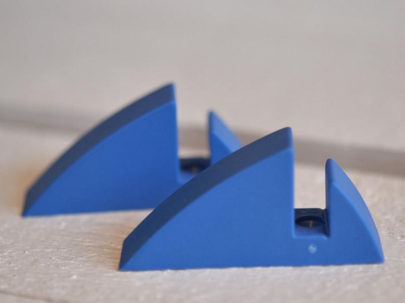 Hyllkonsol pastellblå 8 mm