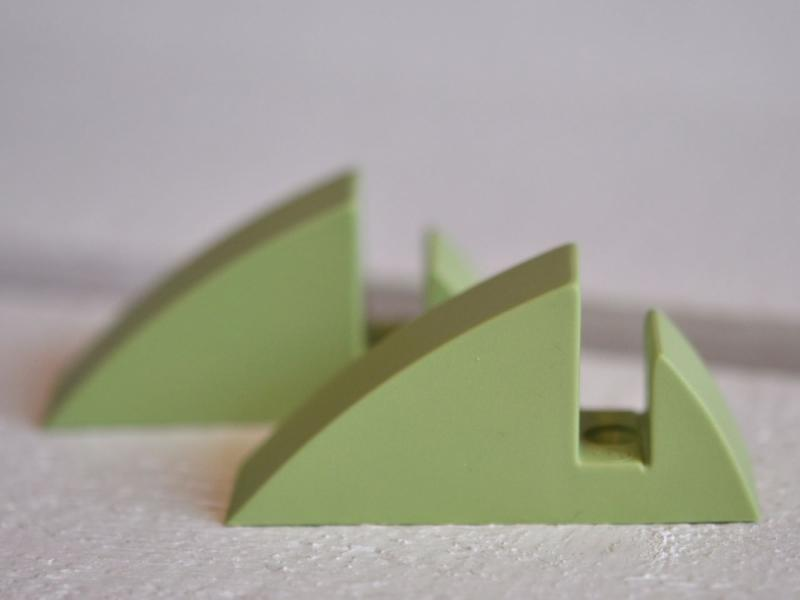 Hyllkonsol pastellgrön 8 mm