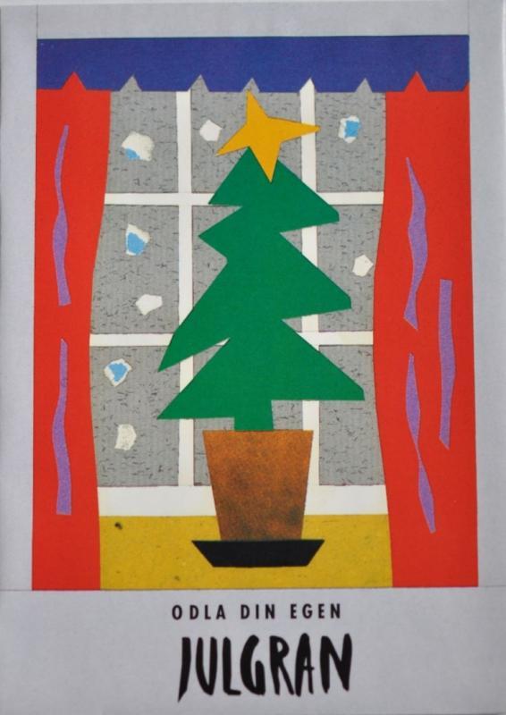 Julkort med frön - Julgran