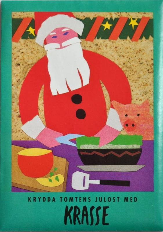 Julkort med frön - Krasse
