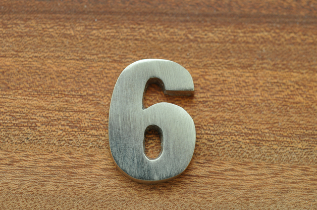 Siffra till brevlåda - 6 & 9