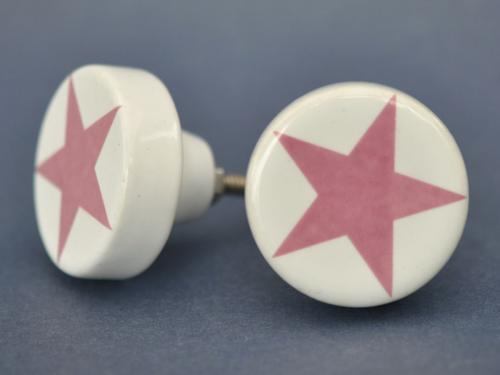 knopp stjärna rosa