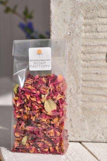 torkade rosenblad köpa