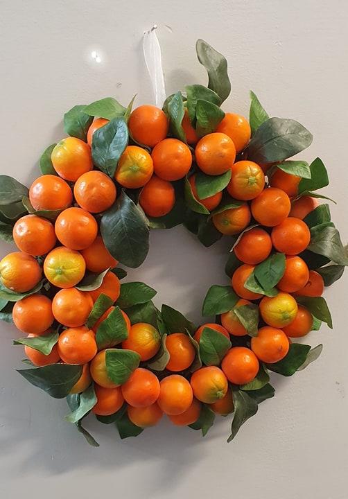Apelsinkrans 35 cm