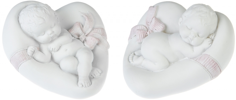 Sovande Bebis På Kudde