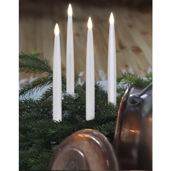 LED Antikljus 4-pack Med Fjärrkontroll