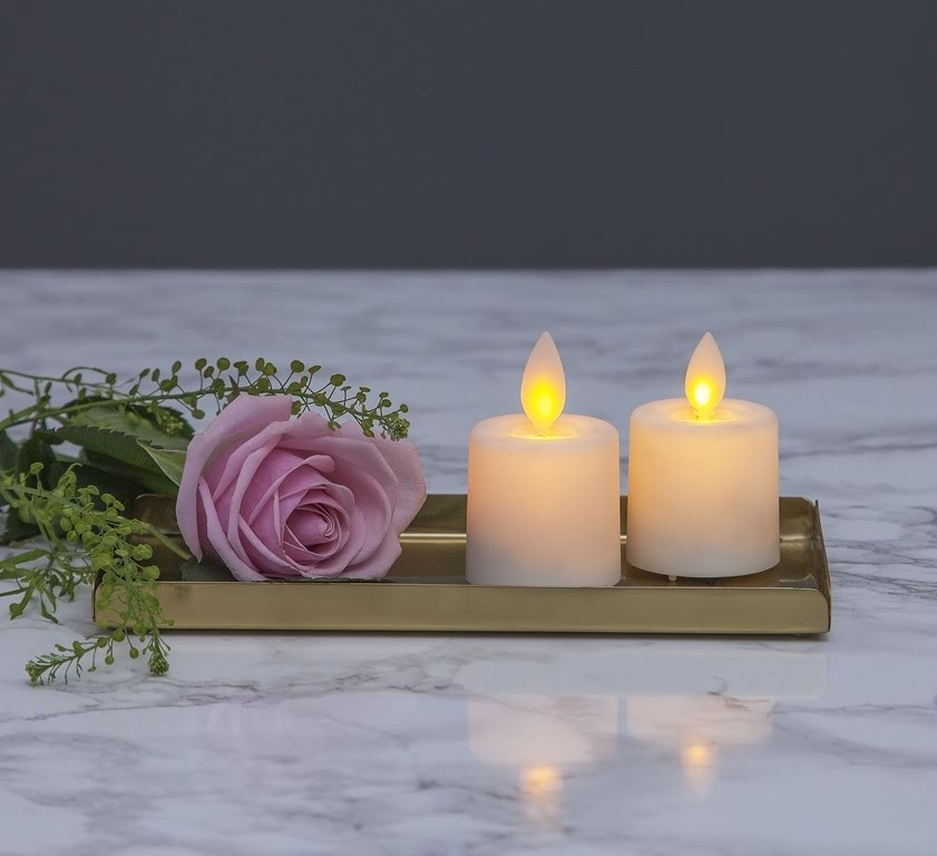 LED Candle 2 Pack Twinkle