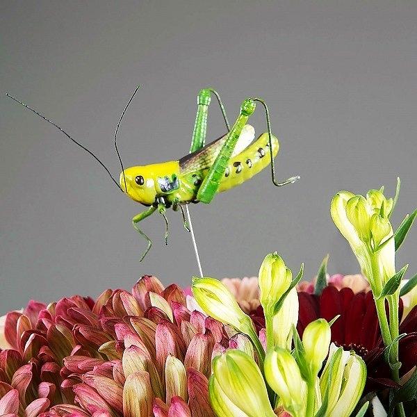 Blomstick Gräshoppa
