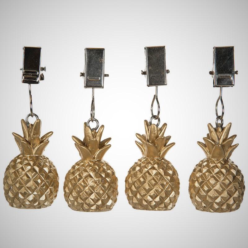 Duktyngd Ananas - Guld