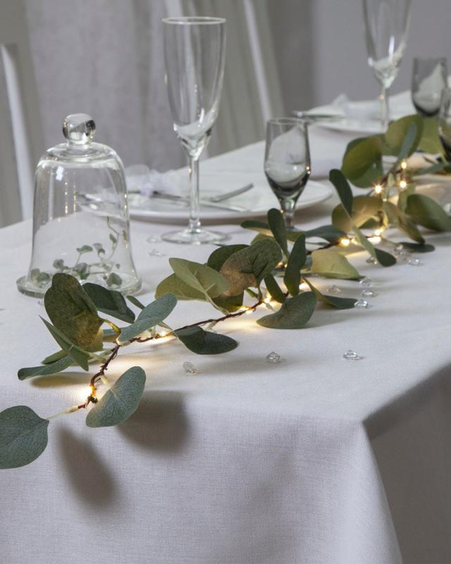 Ljusslinga Girland Eucalyptus