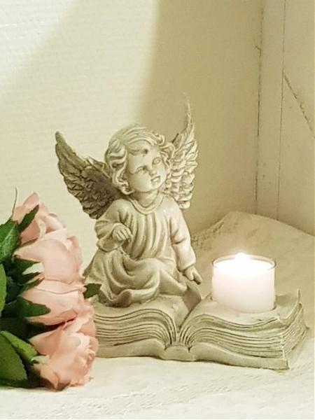 Eden Ängel Ljushållare