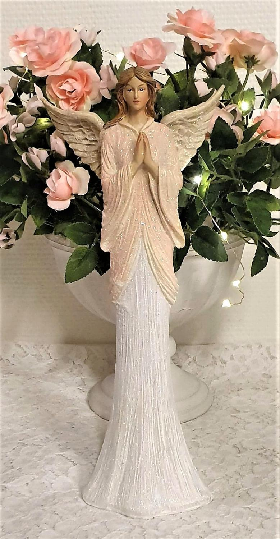 Elegant  Bedjande Ängel