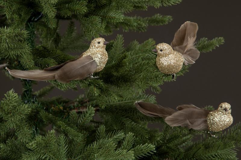 Fåglar Med Clips - 2 Pack