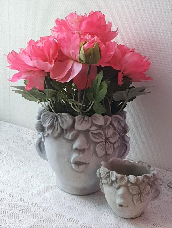 Konstväxt Pion Rosa - 35 cm