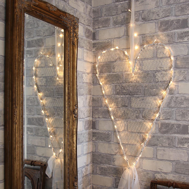 Hjärta Med Ljusslinga