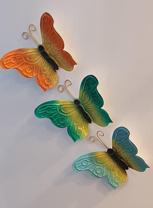 Fjärilar Med Magnet 3-pack